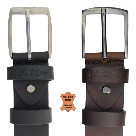 B. Roy Traditional Genuine Leather Belt